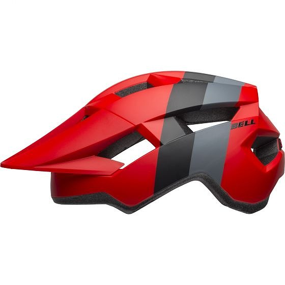 ☆【Bell】Spark MTBヘルメット Downdraft Matte Crimson / Black