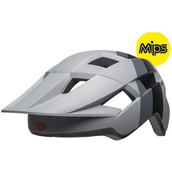 ☆【Bell】Spark MIPS MTBヘルメット Downdraft Matte Grey / Orange   Universal