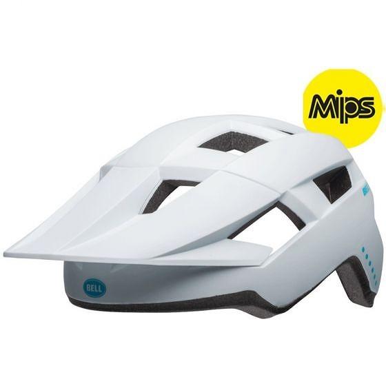 ☆【Bell】Spark MIPSレディースMTBヘルメット Virago Matte 白い / Raspberry | Universal