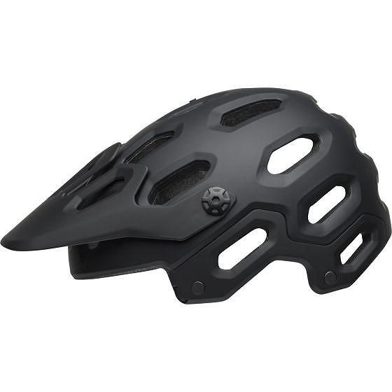 ☆【Bell】スーパー3 MTBヘルメット Matte Black / Grey | L (58-62cm)