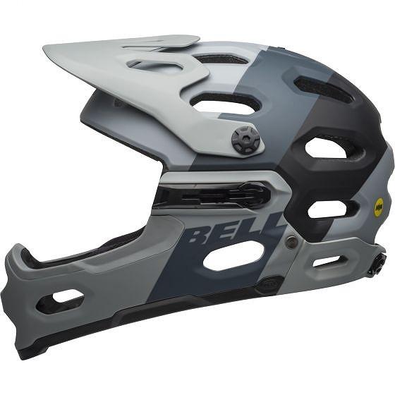 ☆【Bell】Super 3R MIPS MTBヘルメット Downdraft Matte Grey / Gunmetal | M (55-59cm)