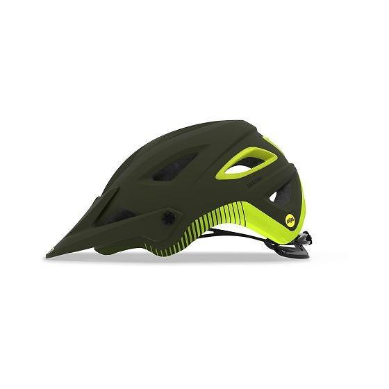 ☆【Giro】山脈MIPSマウンテンバイクヘルメット Matte Olive / Citron | S