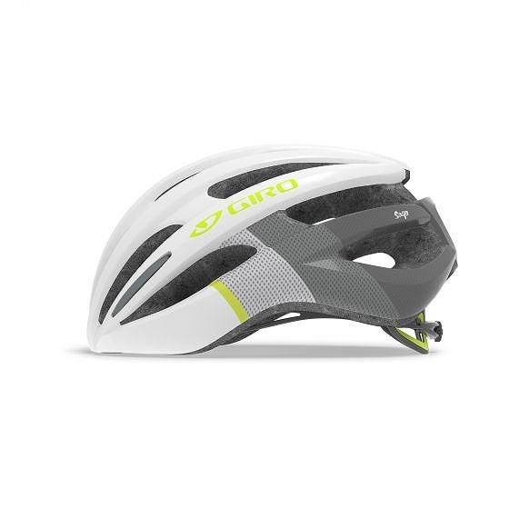 ☆【Giro】佐賀レディースロードヘルメット White / Yellow Fluro | S