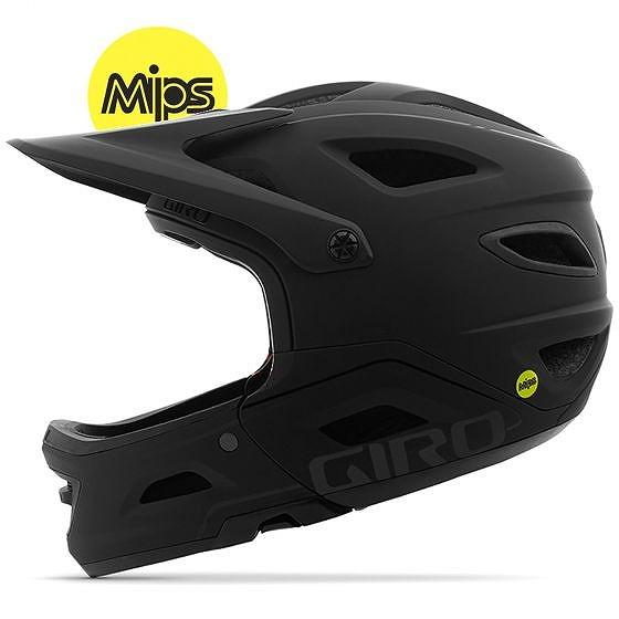 ☆【Giro】Switchblade MIPS MTBヘルメット Matt Black / Gloss Black | S