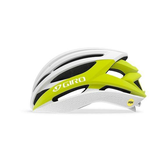☆【Giro】構文MIPSロードヘルメット Matte Citron / White | L (59-63cm)