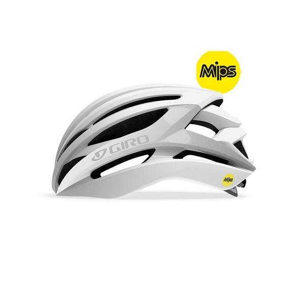 ☆【Giro】構文MIPSロードヘルメット Matte White / Silver | L (59-63cm)