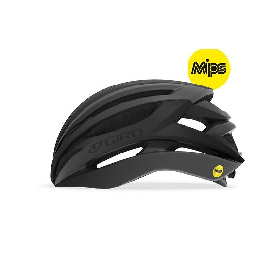 ☆【Giro】構文MIPSロードヘルメット Matte Black / Gloss Black   XL (61-65cm)