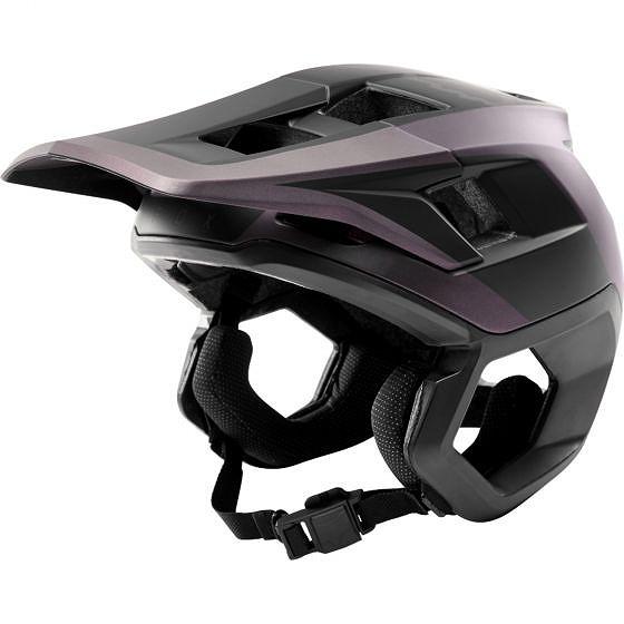 ☆【Fox Clothing】ドロップフレームヘルメット Black Iridium   M