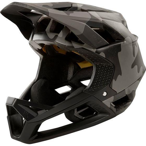 ☆【Fox Clothing】プロフレームヘルメット Black Camo | L