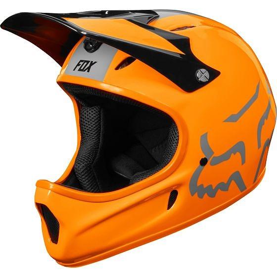 ☆【Fox Clothing】ランペイジヘルメット Atomic Orange | L