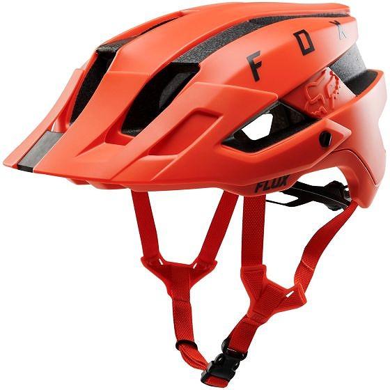☆【Fox Clothing】フラックスヘルメット オレンジ Crash | S/M