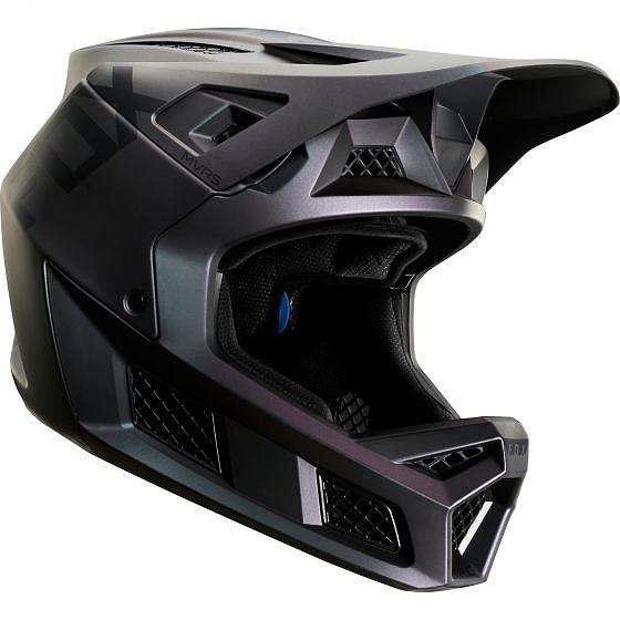 ☆【Fox Clothing】Rampage Proカーボンヘルメット Tig Black Iridium | L