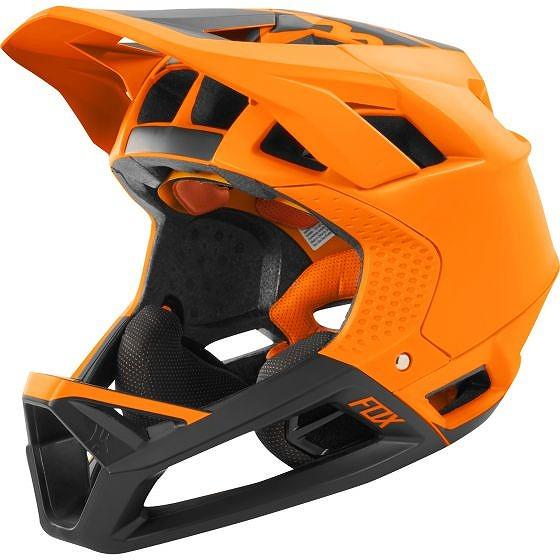 ☆【Fox Clothing】プロフレームヘルメット Matte Atomic Orange   XL