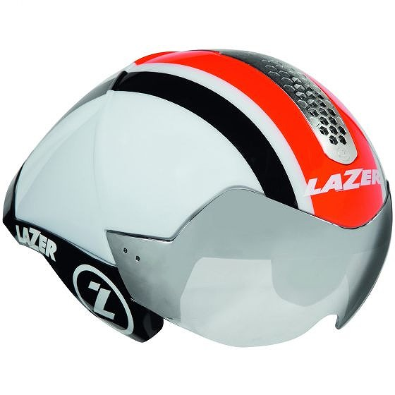 ☆【Lazer】ワスプエアトライヘルメット White / Orange / Black   S