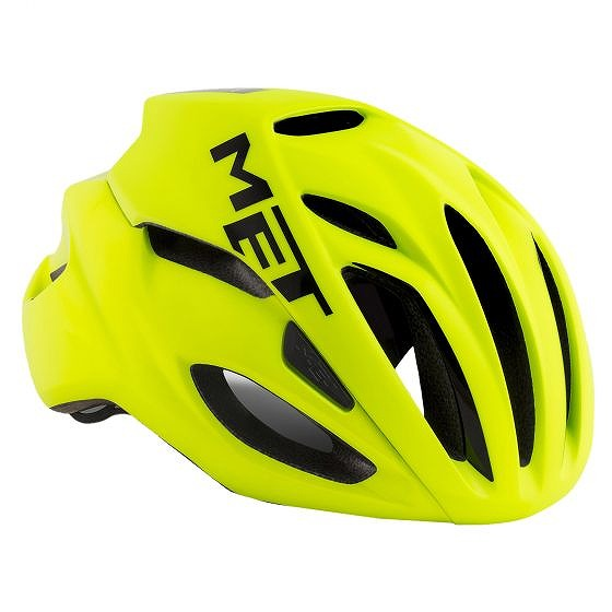 ☆【MET】Rivale Roadヘルメット Safety Yellow | S