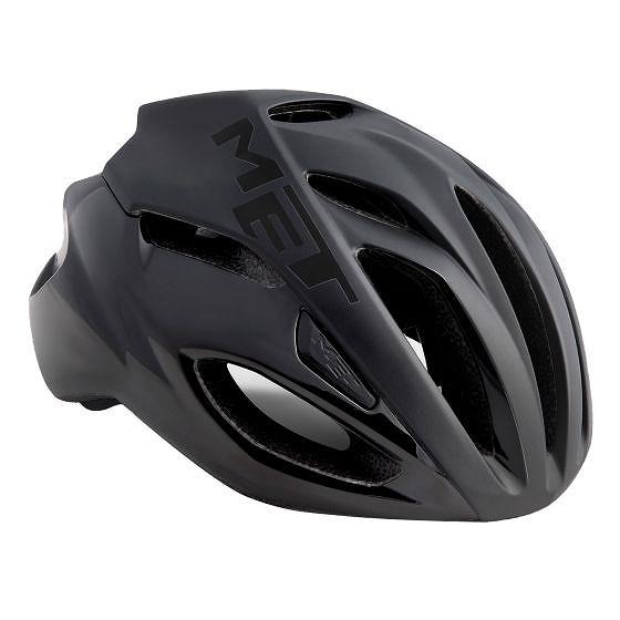 ☆【MET】Rivale Roadヘルメット Black | S