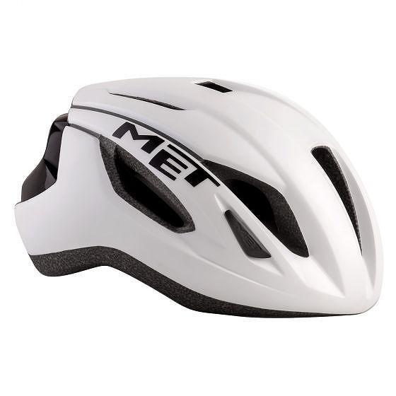 ☆【MET】レイズロードヘルメット 黒 / 白い | L