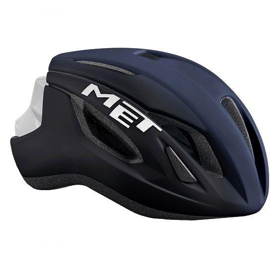 ☆【MET】レイズロードヘルメット Shaded Deep 青 白い | M