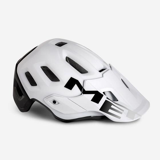 ☆【MET】ロームヘルメット White / Black | L