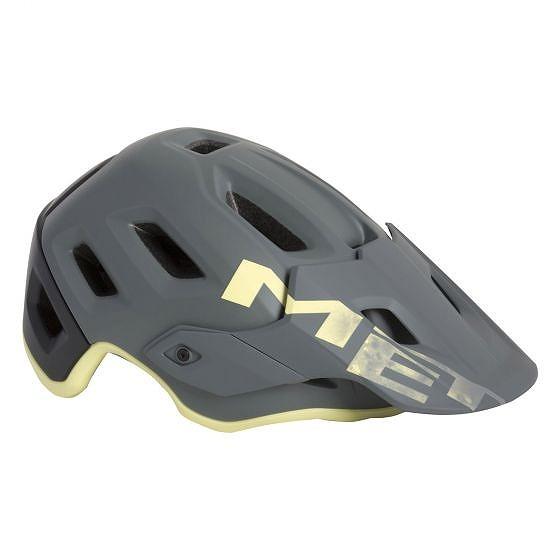 ☆【MET】ロームヘルメット Gray Tender Yellow | L