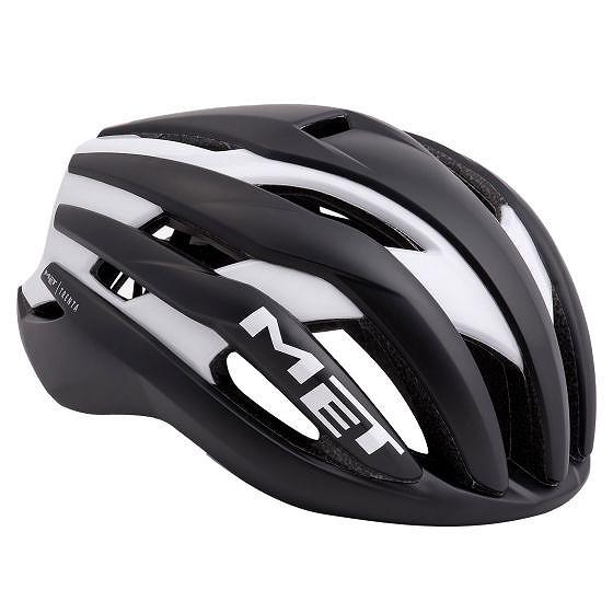 ☆【MET】30ヘルメット Black / White   M