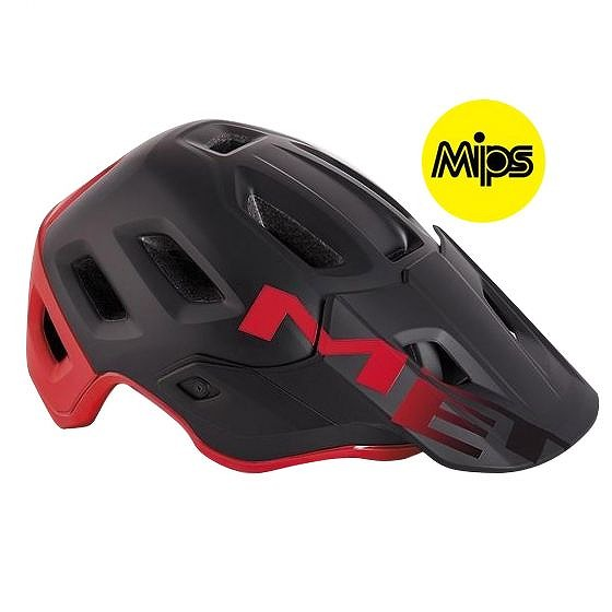 ☆【MET】Roam MIPSヘルメット Black / Red   L
