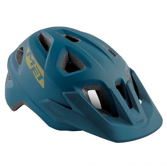 ☆【MET】エコーヘルメット Petrol Blue | L