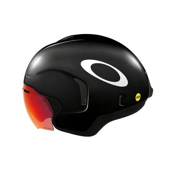 ☆【Oakley】ARO7ロードヘルメット 黒 | Large (56-60cm)