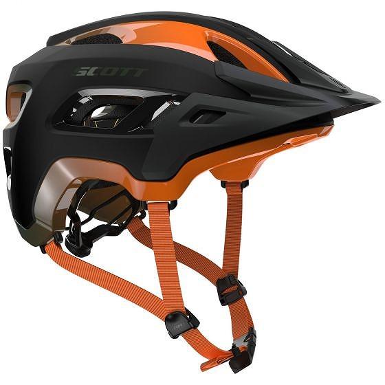 ☆【Scott】Stego MIPSヘルメット Metal Green / Orange | L