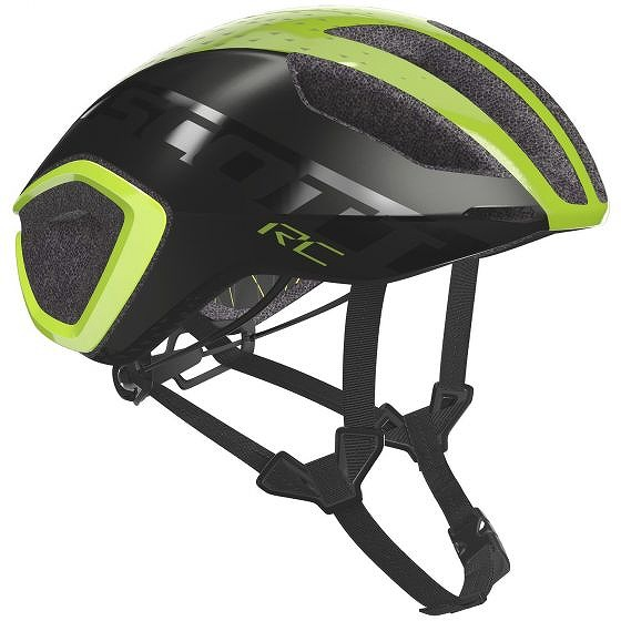 ☆【Scott】Cadence Plus MIPSヘルメット Yellow RC / Dark Grey | L