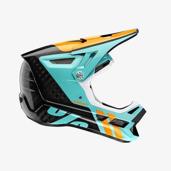 ☆【100%】航空機用カーボンMIPSフルフェイスヘルメット Fusion Ripper Black   XL