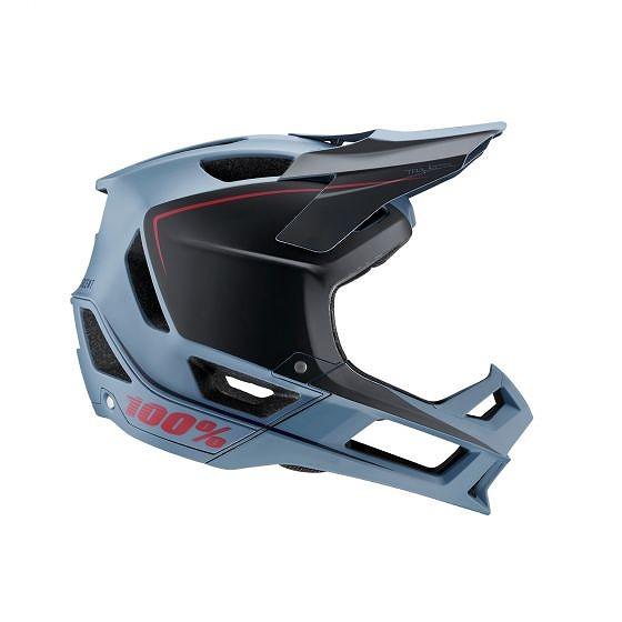 ☆【100%】トラジェクタフルフェイスヘルメット Slate Blue | M