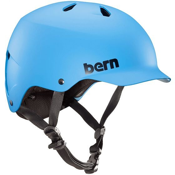 ☆【Bern】Watts EPSヘルメット Matte Muted Teal | L