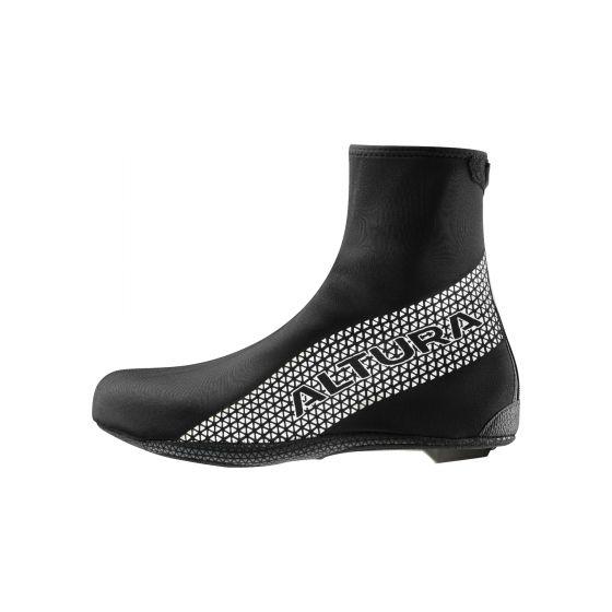 ☆【Altura】(アルチュラ)サーモストレッチオーバーシューズ 靴 Black