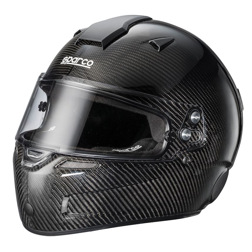 ☆【Sparco】エアーKF-7Wカーボン カート ヘルメット