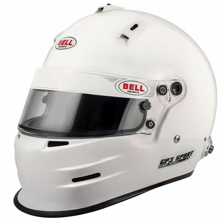 ☆【Bell】GP3スポーツヘルメット サイズ L(60-61cm)HANS CLIP 付き ベル