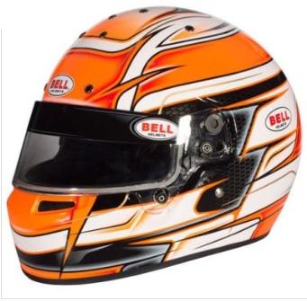 ☆【Bell】KC7-CMR カート ヘルメット Venom Orange