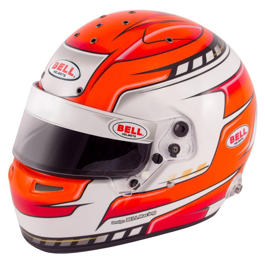 ☆【Bell】RS7プロヘルメット - ファルコンレッド サイズ 58cm