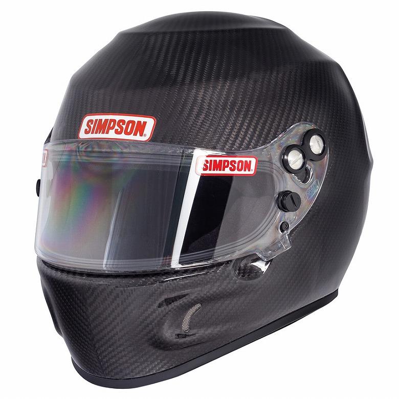 ☆【Simpson】デビルレイカーボンヘルメット サイズ M(56-58cm)