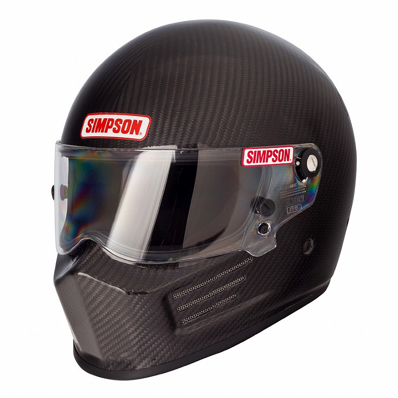 ☆【Simpson】カーボンバンディットヘルメット サイズ L(58-60cm)