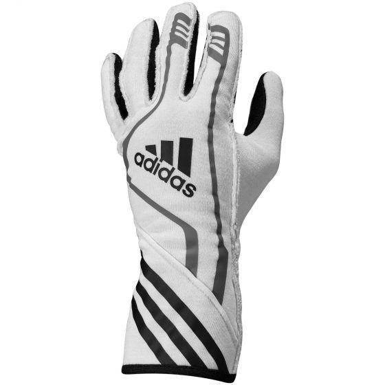 【Adidas】 RSR Race レース グローブ Gloves(FIA 8856-2000公認)ブラック×ホワイト