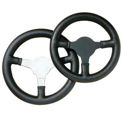 ☆【Moto-Lita】シングルシーターステアリングホイール ポリッシュ 10インチ