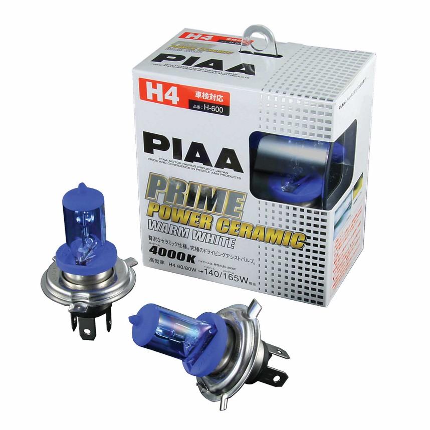 ☆【PIAA】ホワイト コンペティション バルブ  ドロー60 / 55wは130 / 120w produces(SINGLE)