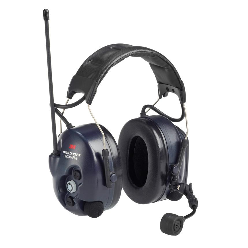 ☆【Peltor】Litecom Plusピットチームラジオヘッドセット