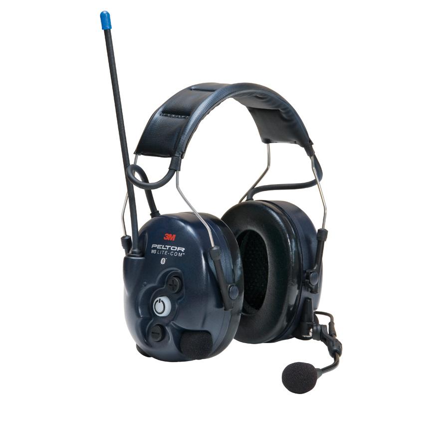 ☆【Peltor】WS Lite-ComワイヤレスBluetoothピットチームヘッドセット