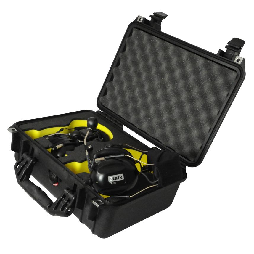 ☆【Peli】プロワイヤレスヘッドセット用ハードケース