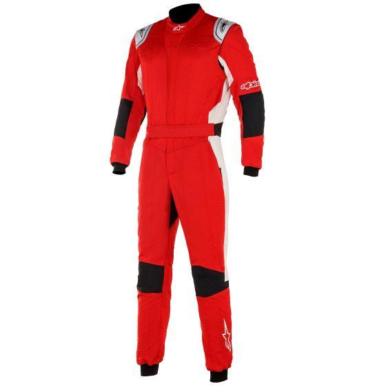 4輪 店 レーシングスーツ 価格 交渉 送料無料 ☆NEWモデル☆ Alpinestars アルパインスターズ White GP Red TechV3レーススーツ