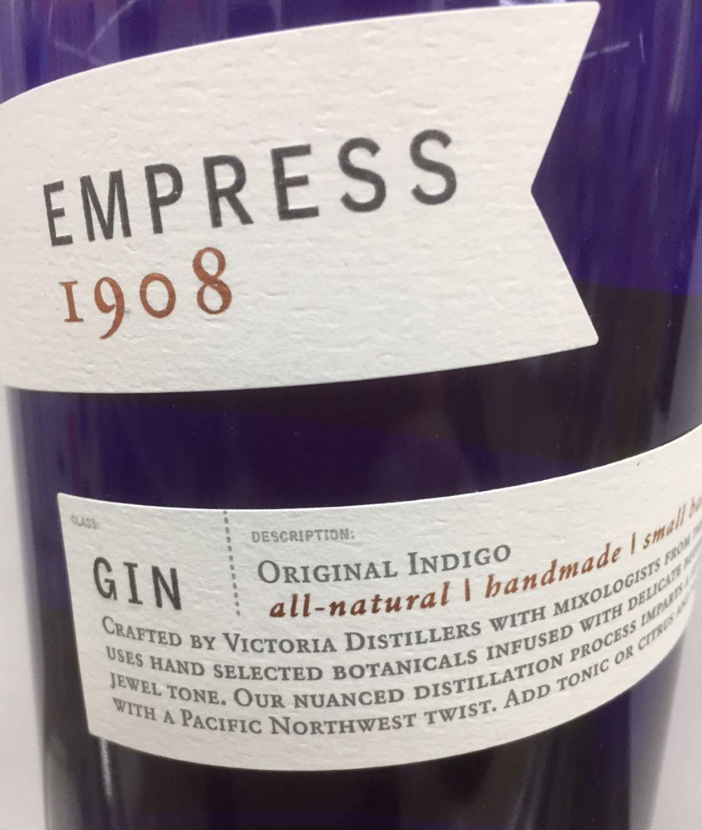 1908 ジン エンプレス