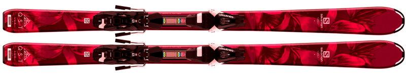 SALOMON(サロモン) ジュニアスキー+ビンディングセット QST LUX JR M/L7 L40544500【送料無料!】