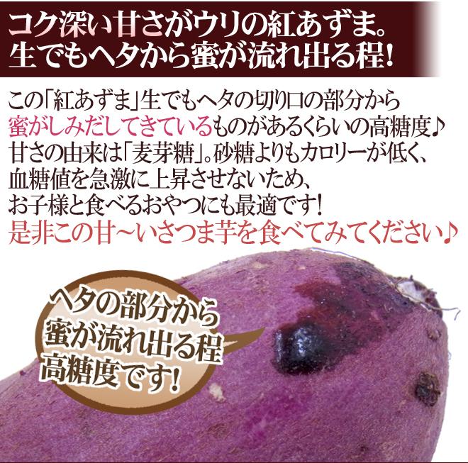 """千葉・茨城県産 """"紅あずま"""" Mサイズ 約5kg"""